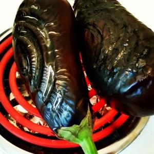 Charring my eggplant